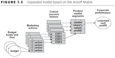 model based on the Ansoff Matrix