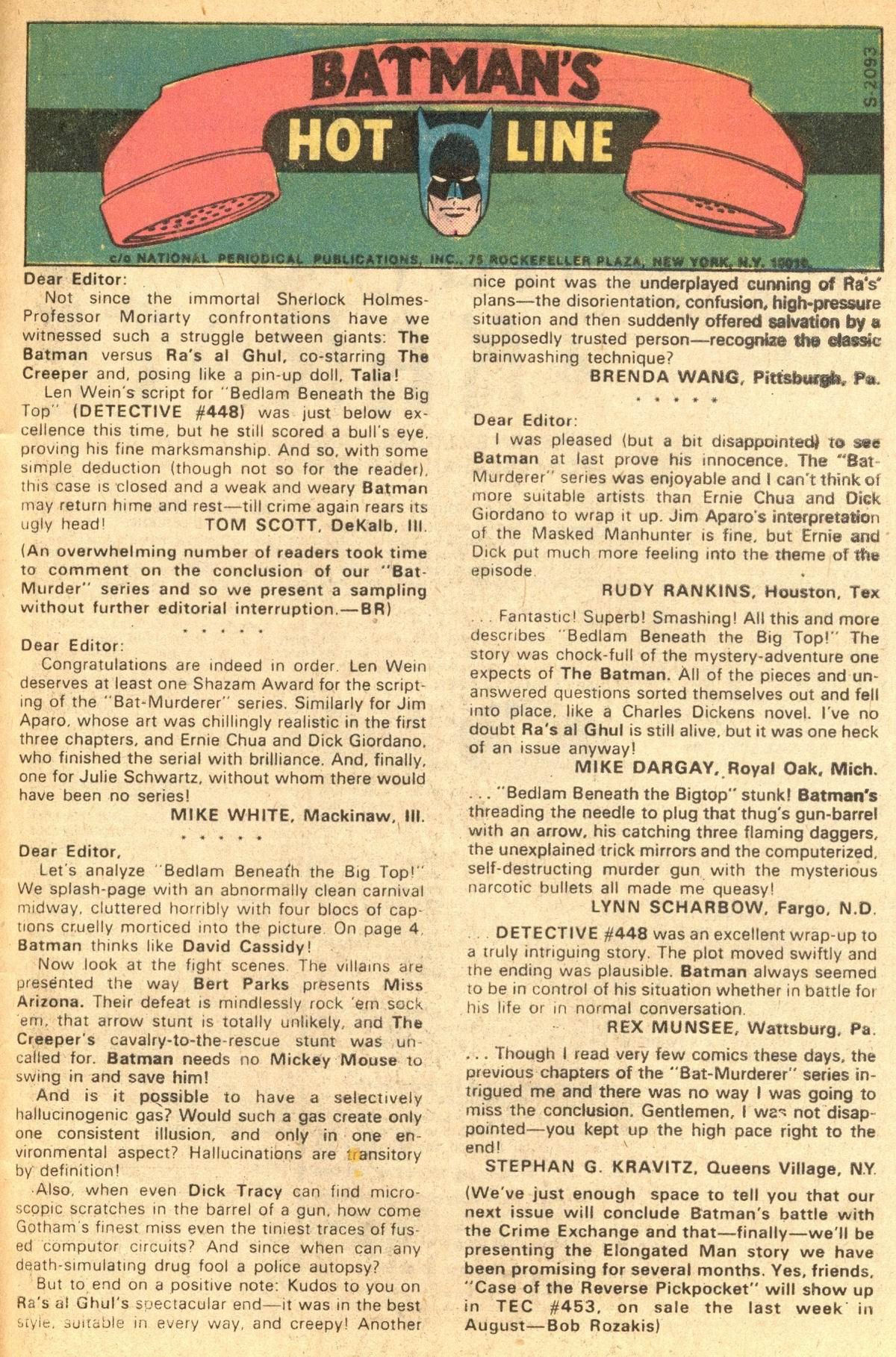 Detective Comics (1937) 452 Page 32