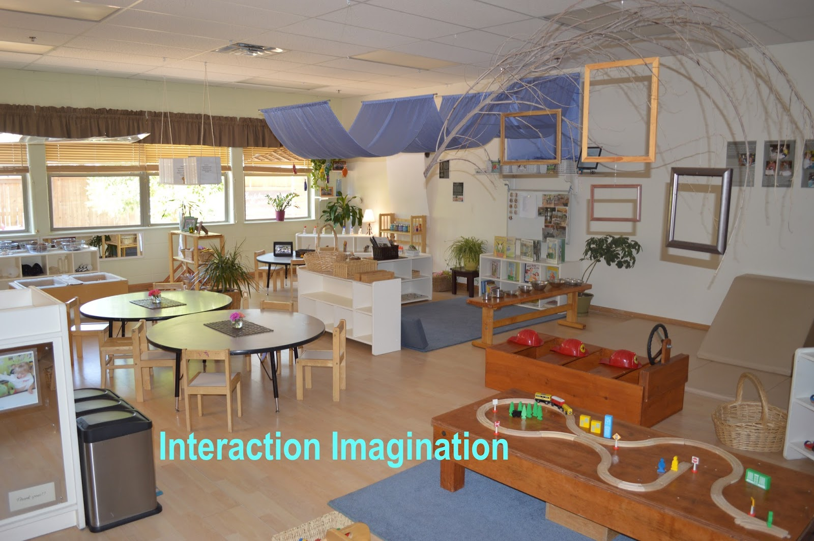 Interaction Imagination Developing The Third Teacher