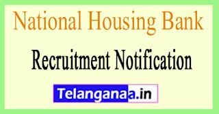 National Housing Bank NHB Recruitment Notification 2017