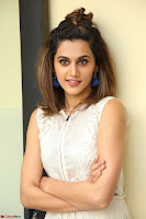 Taapsee Pannu in cream Sleeveless Kurti and Leggings at interview about Anando hma ~  Exclusive Celebrities Galleries 031.JPG