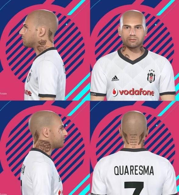 Ricardo Quaresma Face PES 2018