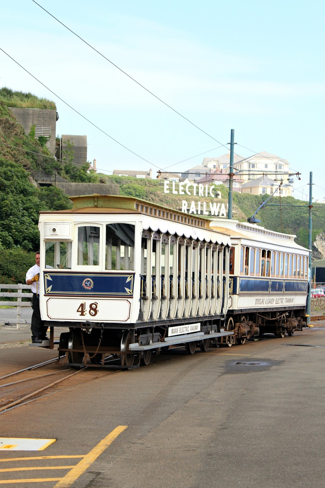 Isle Of Man Photo Diary tram railway