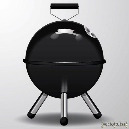 Create a Barbecue Picnic Icon in Adobe Illustrator CS6