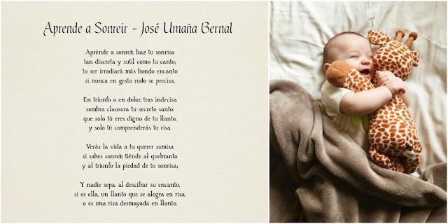 Aprende a sonreír - José Umaña Bernal - Poema completo