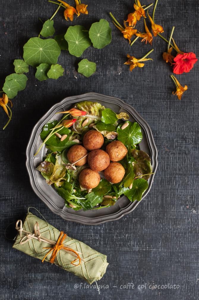 Cucinare col nasturzio crocchette di patate e fiori e for Cucinare qualcosa di particolare