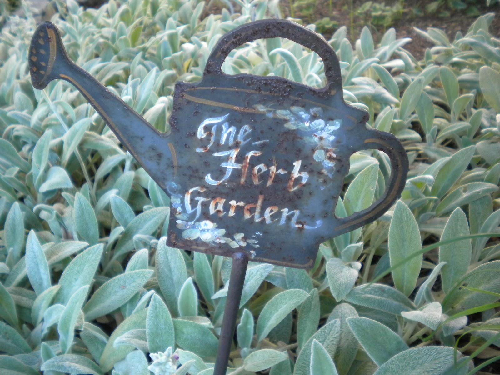 Herb Garden Labels