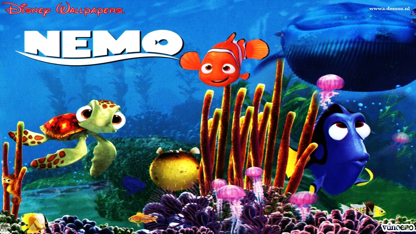 Finding Nemo D Animasi Hd Wallpaper: Gambar Wallpaper Animasi Ikan