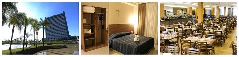 Onde ficar em Aparecida - Hotel Rainha do Brasil