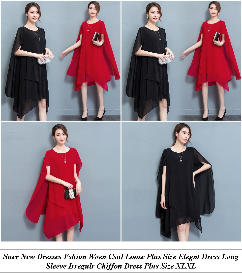 Red Evening Dresses Short - Laor Day Sale - Burgundy Dress With Sleeves