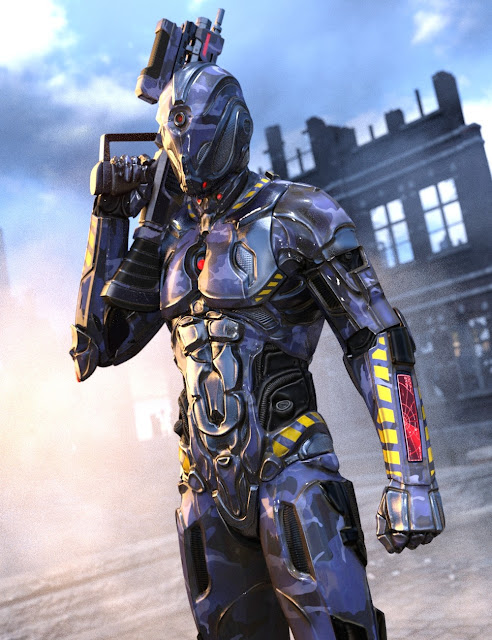 Cyclops Suit HD for Genesis 3 Male
