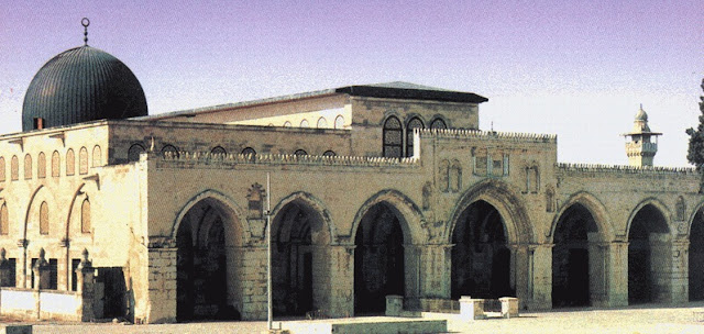 Gambar Pembebasan Masjidil Aqsa Palestina oleh Umar bin Khattab