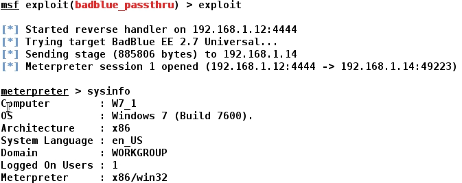 Metasploit Windows 7 Smb Exploit