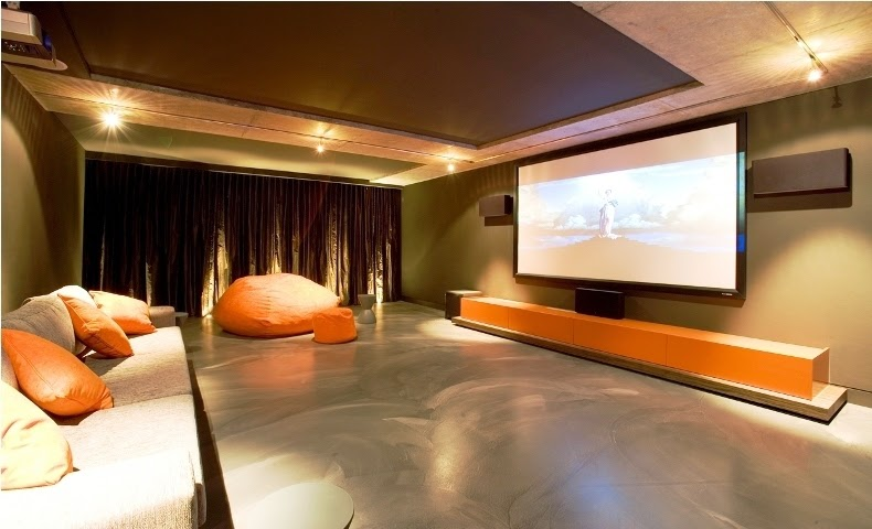 wall colors for a home theater