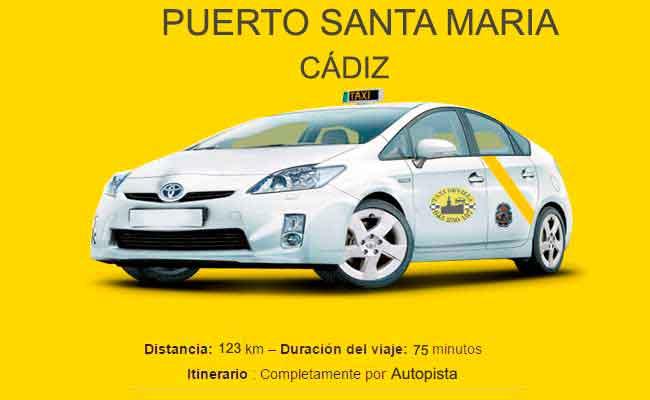 Precio Taxi Sevilla-Puerto Santa María