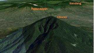 Kisah Cerita Sasakala Gunung Kendang Pasirwangi, Garut, Jawa Barat