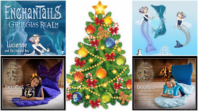 Enter the Enchantails Mermaid Slumber Bag  Exclusive Holiday Giveaway . Ends 12/9
