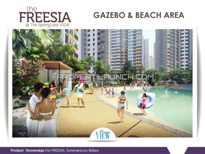 Beach Area @ SpingLake View Summarecon Bekasi