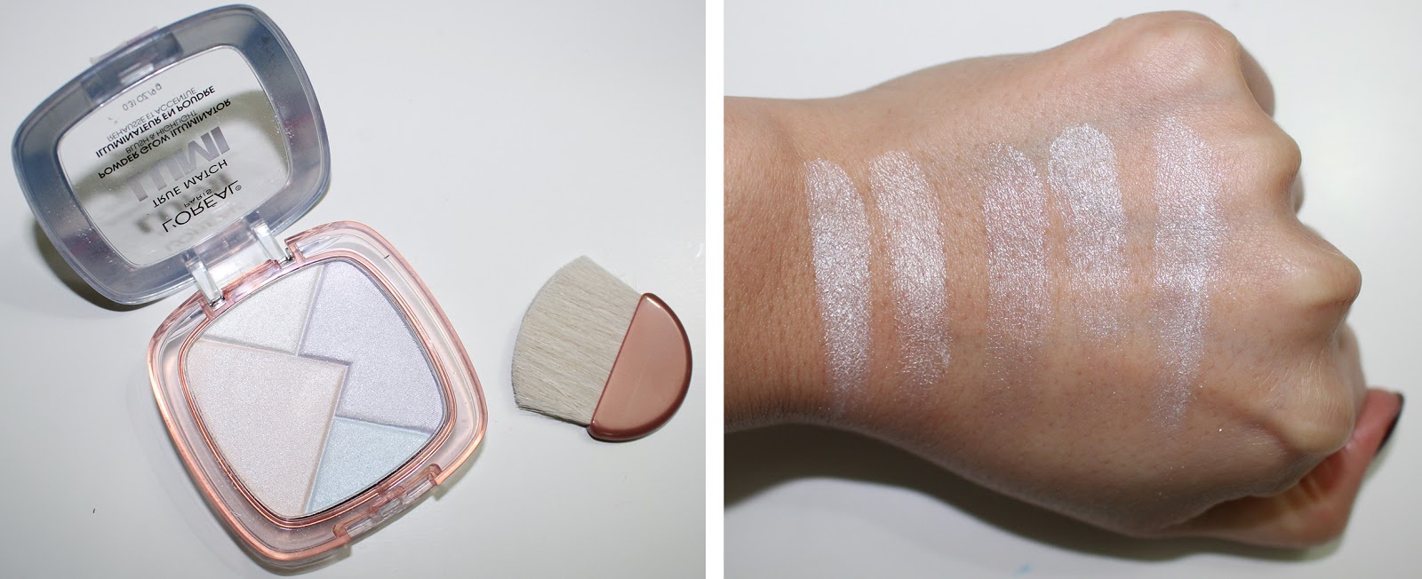 Highlighters Loreal True Match Lumi Glow Illuminators Powder Perfecting Now For The Rose Color I Personally Wouldnt Wear Liquid As A Face Primer Because It Does Leave Rosy Tint To Skin Which Do Not Like