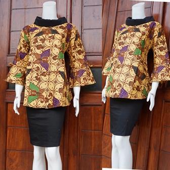 Batik Blouse Untuk Bekerja