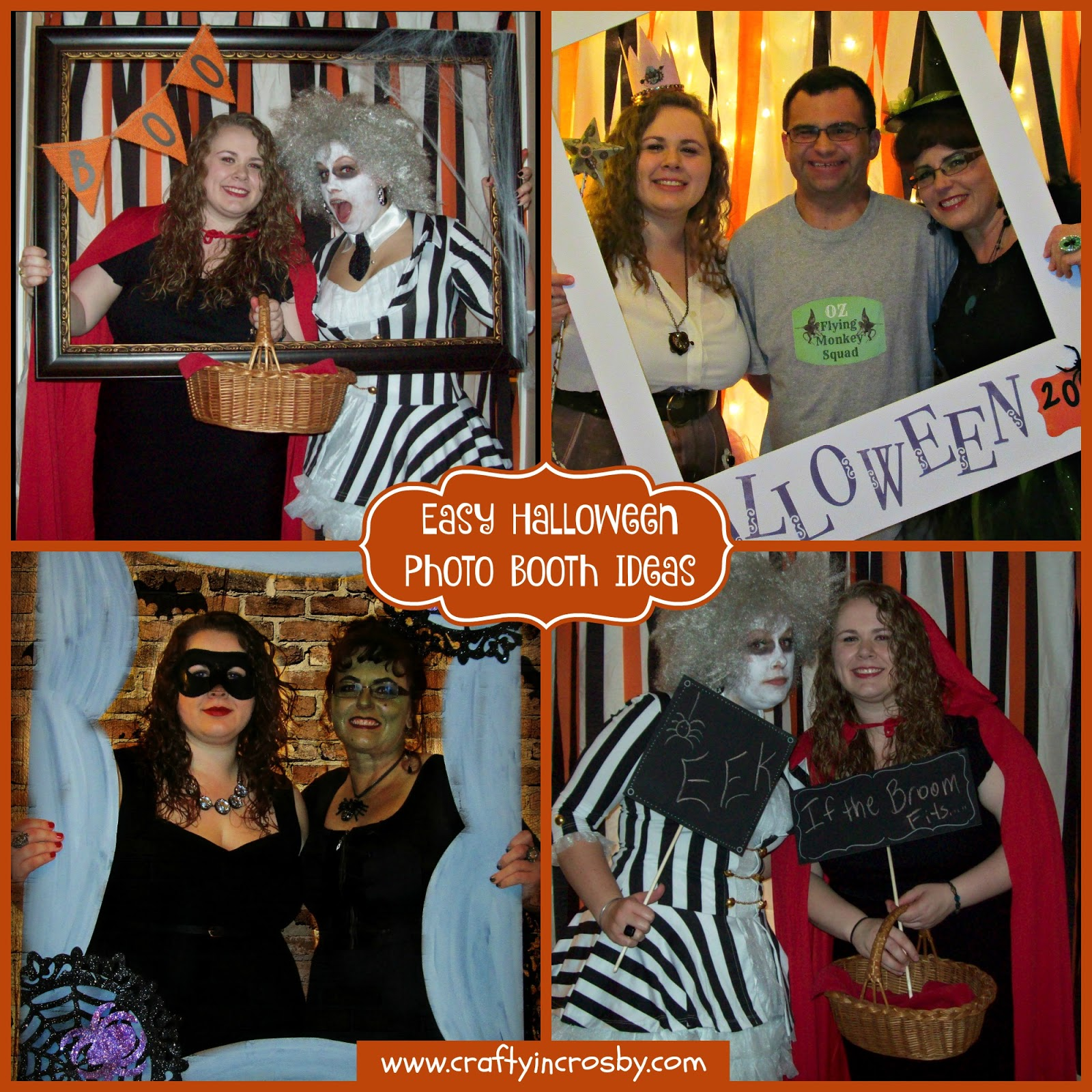 Crafty In Crosby Easy Halloween Photo Booth Ideas