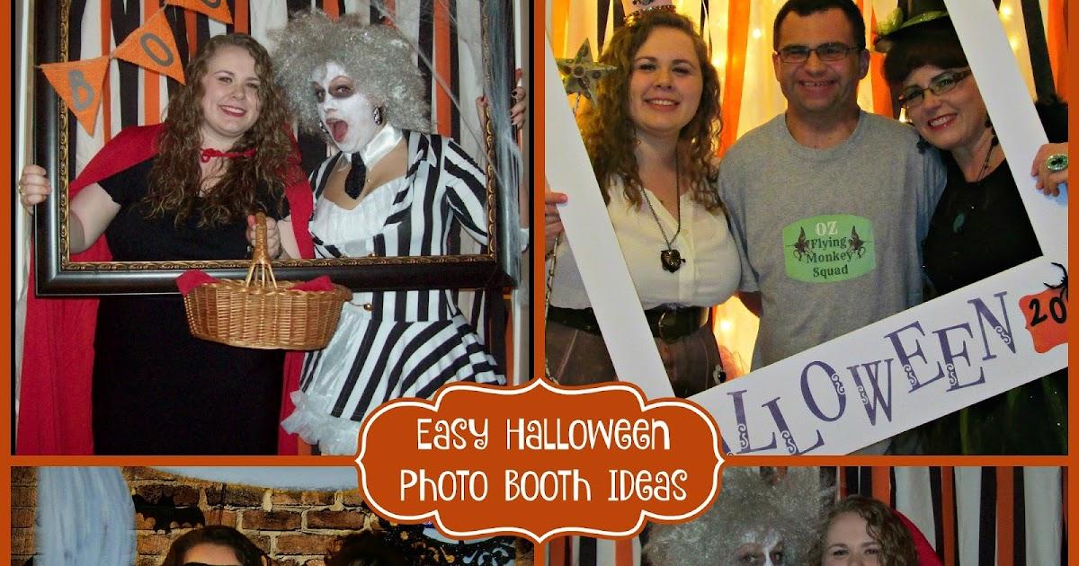 Crafty In Crosby Easy Halloween Photo Booth Ideas