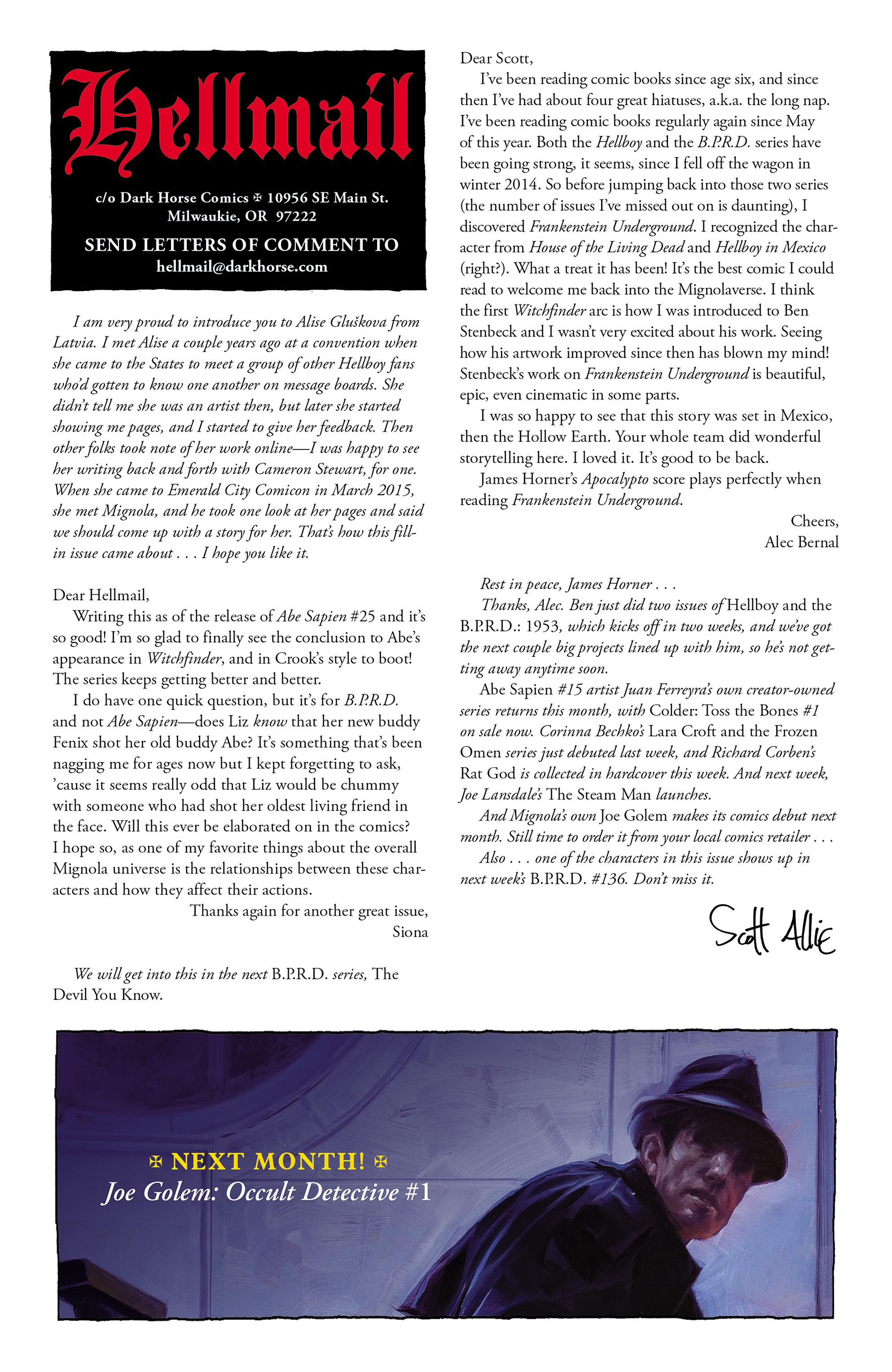 Read online Abe Sapien comic -  Issue #27 - 26