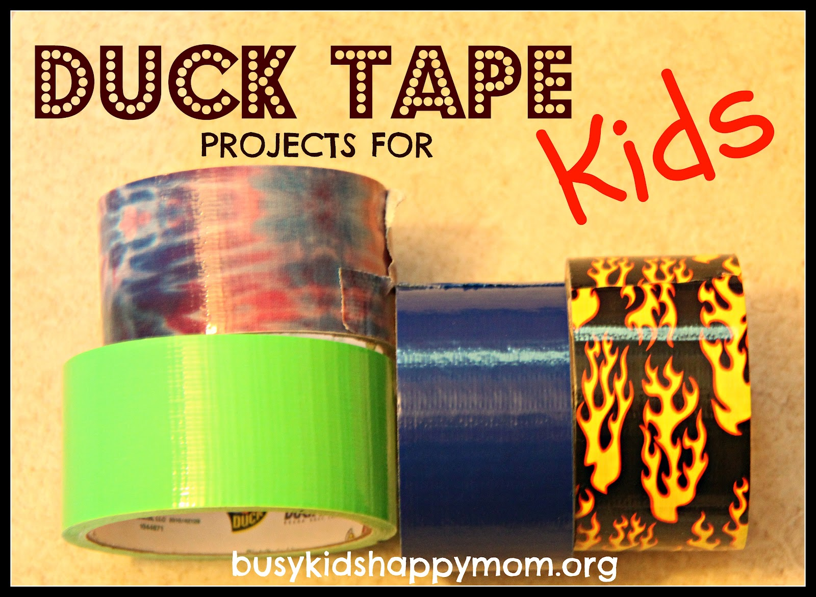 make duct tape projects Shop duct tape at staples color code your maintenance work and craft projects duct tape doesn't just come in original duck tape® brand all-purpose duct tape.