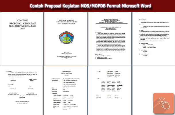 Contoh Proposal Kegiatan MOS/MOPDB Format Microsoft Word