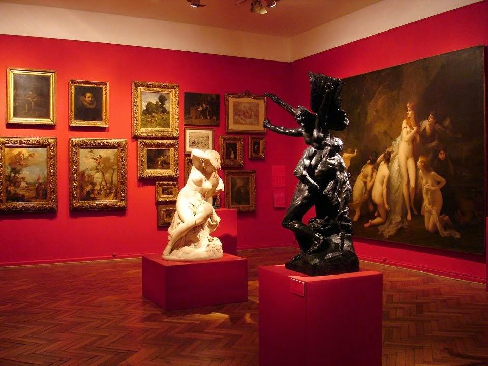 Interior do Museu Nacional de Belas Artes de Buenos Aires