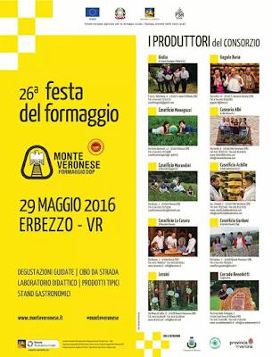 Festa del Formaggio Monte Veronese DOP 29 maggio Erbezzo (VR) 2016