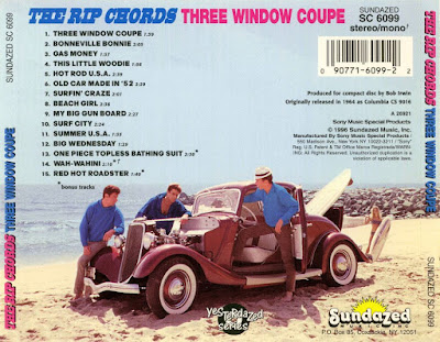 The Rip Chords - Three Window Coupe (1964)