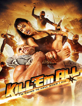Poster Of Kill 'em All 2013 Dual Audio 300MB BRRip 480p ESubs Free Download Watch Online downloadhub.net