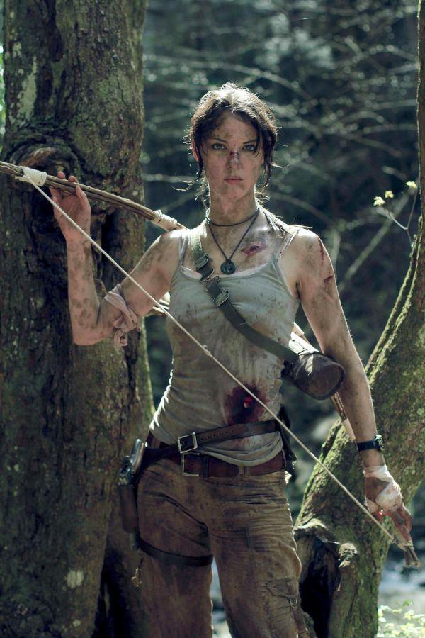 REBORN Lara Croft Cosplay Image  New Techie