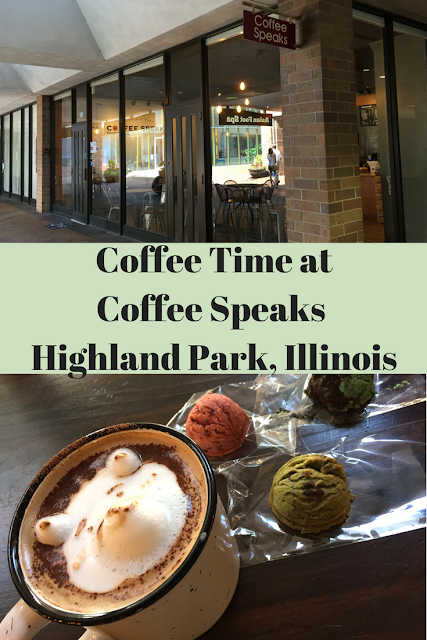 Coffee Time at Coffee Speaks in Highland Park, Illinois