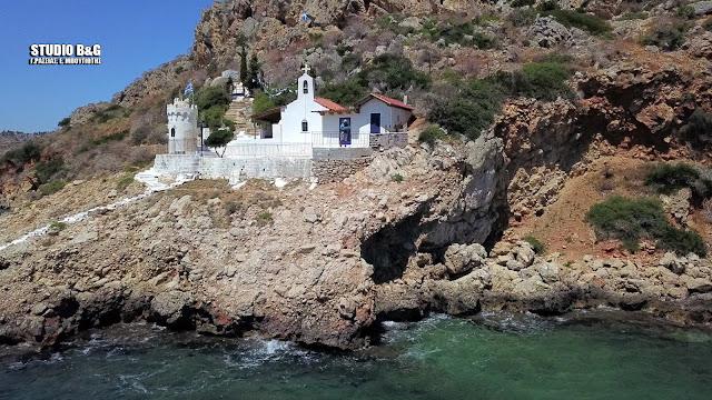 Αγιος Νικόλαος ο κρασόκτιστος (βίντεο drone)