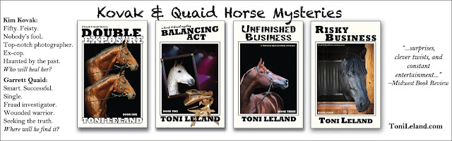 Kovak & Quaid Mystery Series by Toni Leland