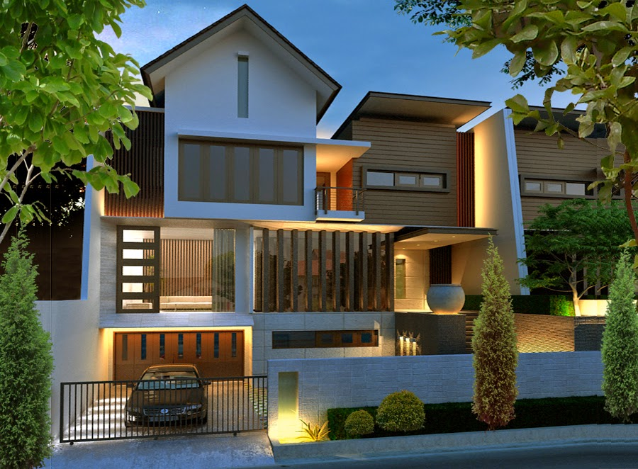 Desain Rumah Minimalis Mewah Dan Modern 1 Lantai Contoh