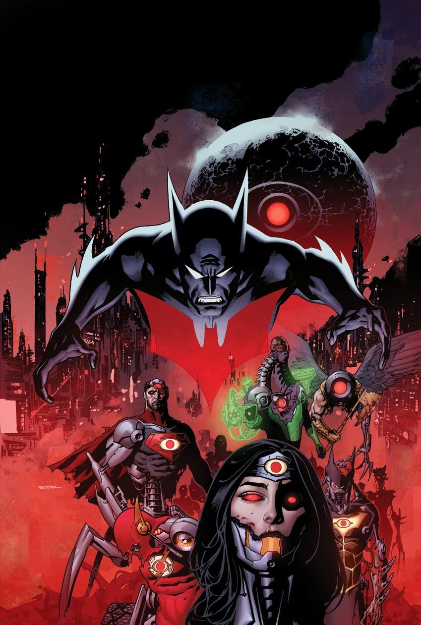 Gotham Spoilers: Futures End, Batman Beyond BeginsNew 52 Batman Beyond