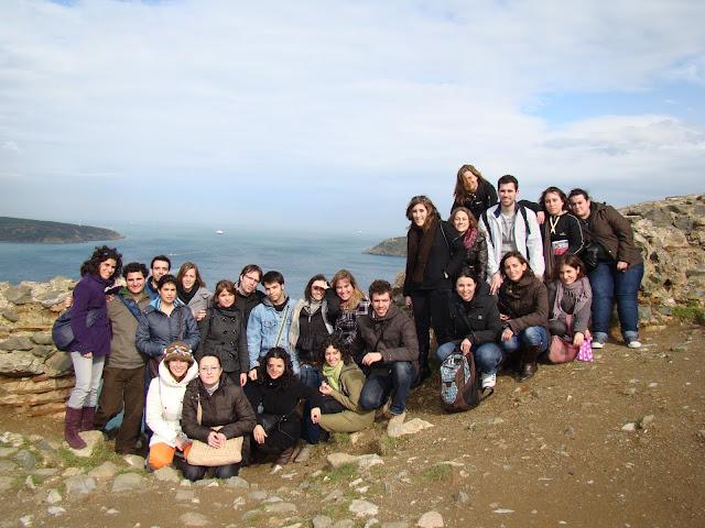Con el mar Negro al fondo