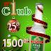 Affiche promo Noël : rhum Dzama Club, 25 cl