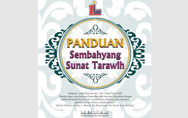 cara solat tarawih