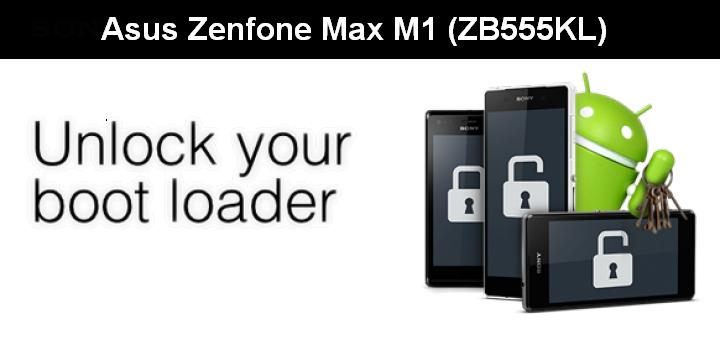 cara unlock bootloader pada Asus Zenfone Max M1 (ZB555KL)