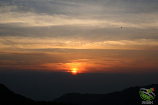 美ヶ原 夕日
