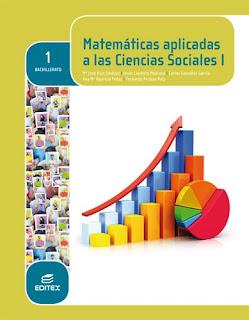 Libro Matemáticas I CCSS 1º Bachillerato Editex (LOMCE)