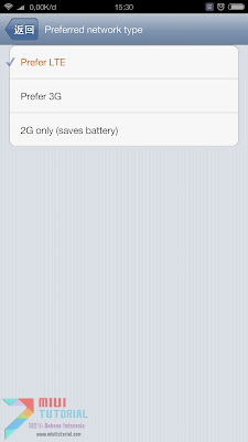 Apakah Bisa Pengaturan 4G Muncul Lagi di Xioami Redmi Note 3 PRO Tanda Harus Dial *#*#4636#*#* Lagi? Ini Tutorial Cara Permanennya