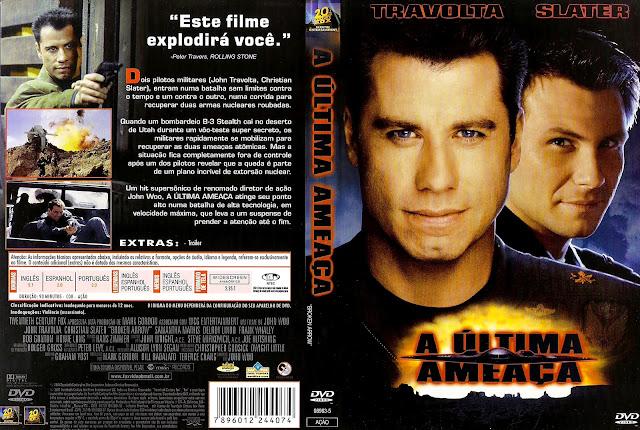 Capa DVD A Última Ameaça