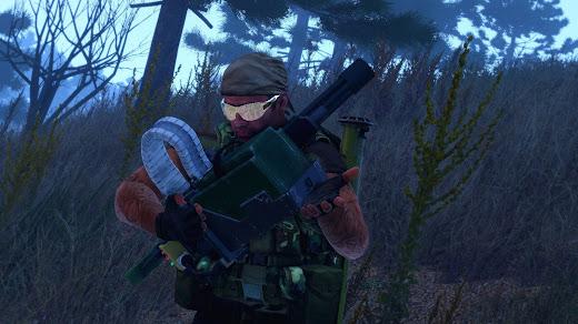 Arma3用ミニガン追加のNIArms Minigun MOD