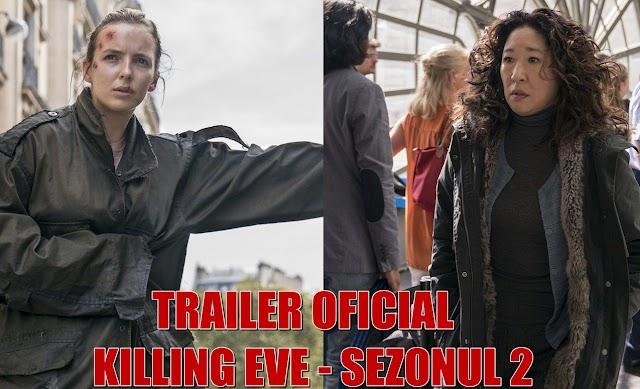 """Trailer nou pentru sezonului 2 """"Killing Eve"""""""