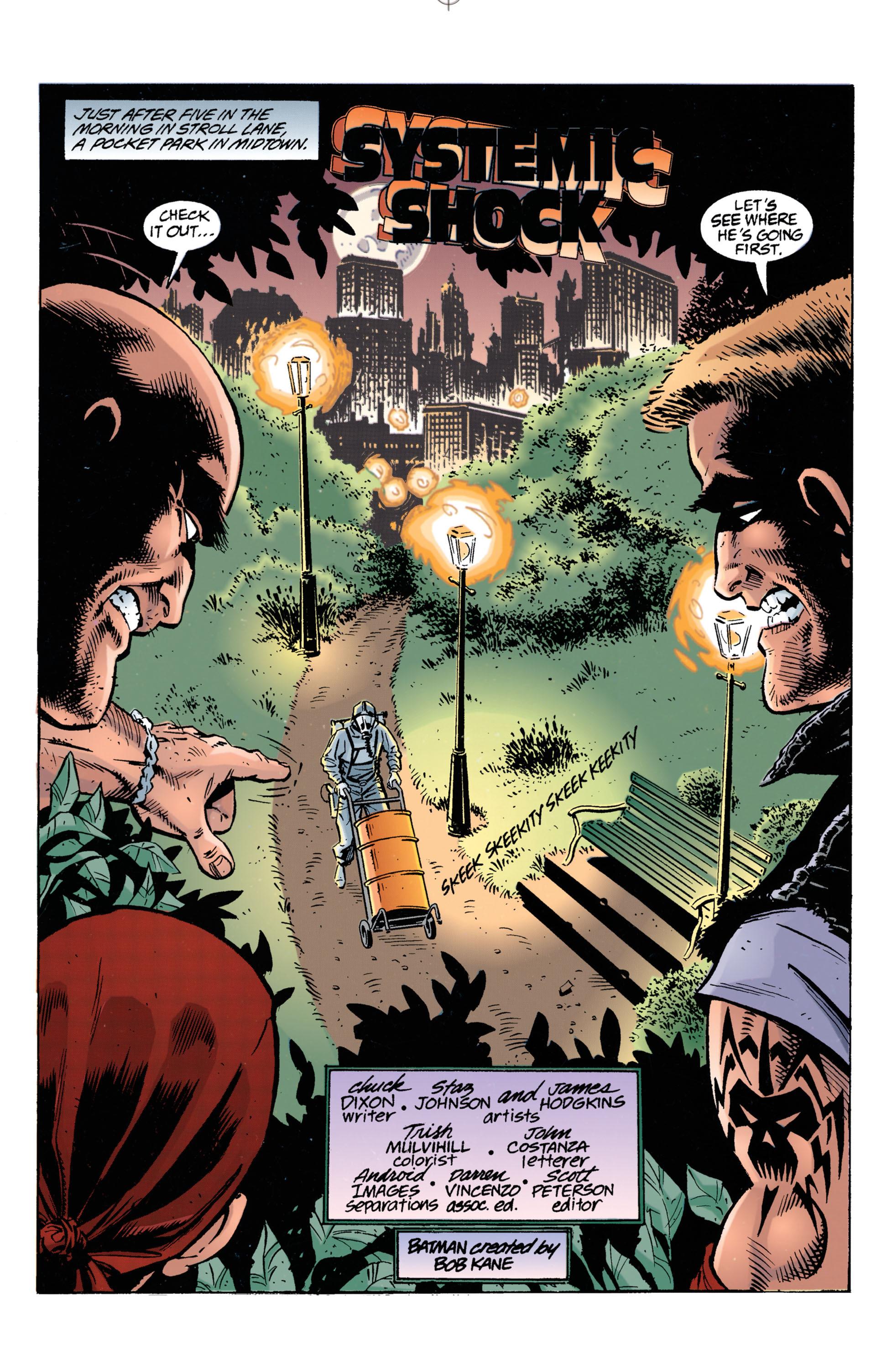 Detective Comics (1937) 693 Page 1